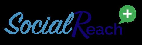SocialReach+ | Social Media for Acupuncturists | Logo