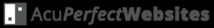 AcuPerfect Websites Logo - Gray