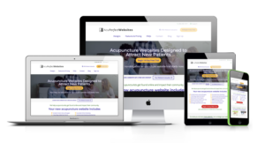 Websites designed for Acupuncturists   AcuPerfect Websites   Monitors