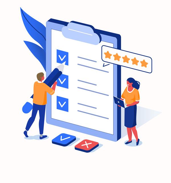 Testimonial checklist | AcuPerfect Websites