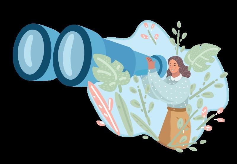 AcuPerfect Websites | 2020 in Review | Blog | Looking back through binoculars